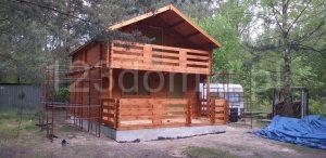 domek drewniany na zamówienie